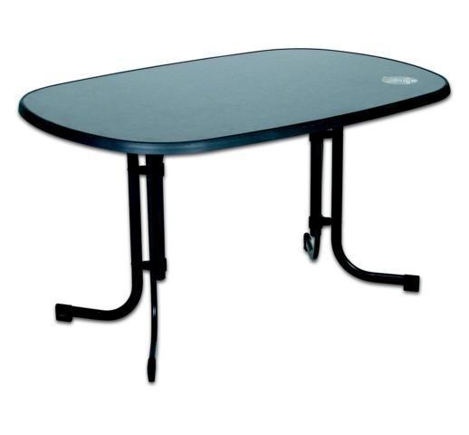 Gartentisch terassentisch tisch klapptisch marmoriert for Gartentisch granitplatte