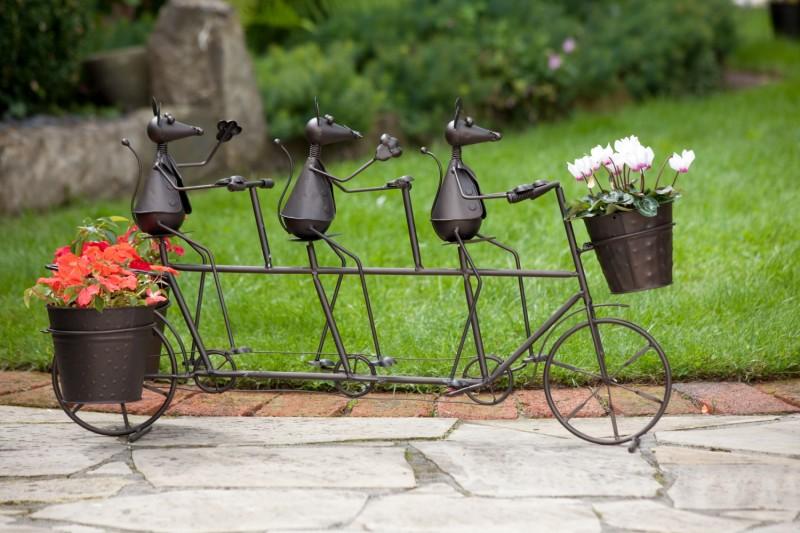 gartendekoration aus metall – nmmrc, Garten Ideen