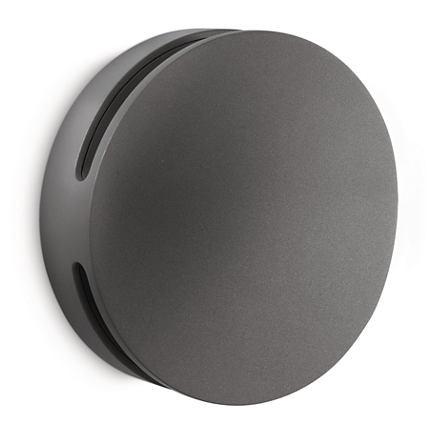 philips ledino led wandleuchte aussenleuchte 16820 93 16 anthrazit ebay. Black Bedroom Furniture Sets. Home Design Ideas