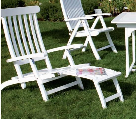deckchair liegestuhl gartenliege relaxliege akazienholz. Black Bedroom Furniture Sets. Home Design Ideas