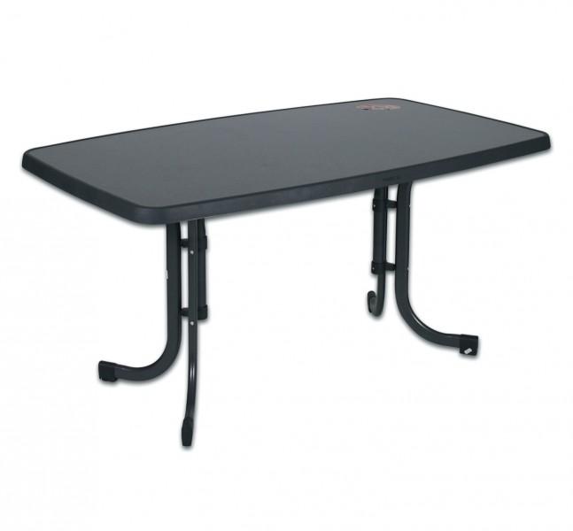 Gartentisch Klapptisch Boulevard Tisch Mecalit Platte Marmoriert