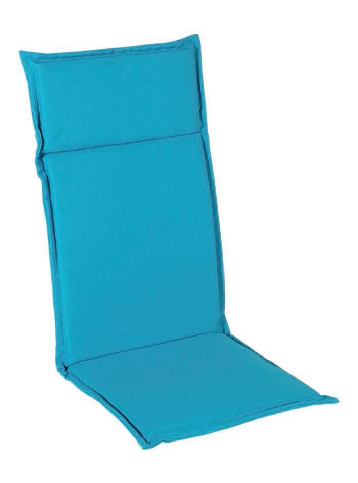 sun garden sitzauflage gartenstuhlauflage sesselauflage hochlehner t rkis ebay. Black Bedroom Furniture Sets. Home Design Ideas