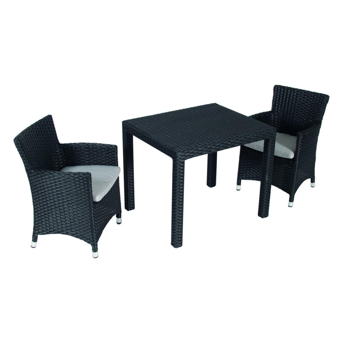 3 teiliges kinder gartenm belset 2 sessel und 1 tisch for Sessel und tisch
