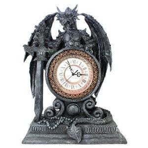 Drachen uhr kaminuhr timargor gothic mystik fantasy m bel for Gothic wohnen