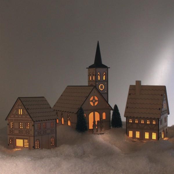 wohnzimmerlampen holz: Lichtdeko, Holz Möbel & Wohnen Dekoration Jahreszeitliche Dekoration