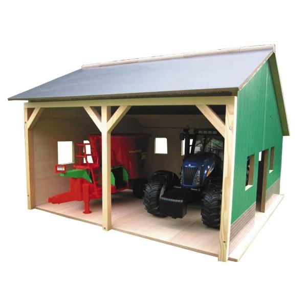 wohnzimmerlampen holz:Bauernhof-Schuppen, Holz, passend für Bruder Traktoren Spielzeug  ~ wohnzimmerlampen holz