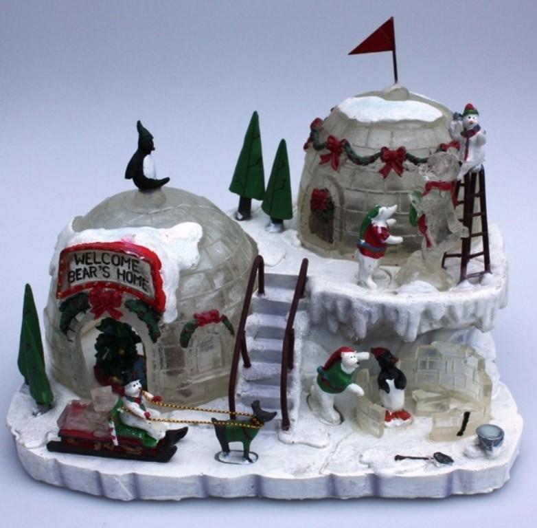 Beleuchtet weihnachtslandschaft winterlandschaft for Wohnen dekoration